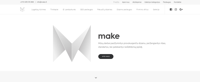 View Information about Make