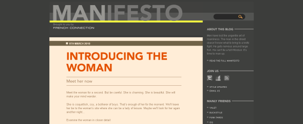 View Information about Manifesto