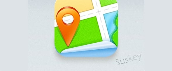 Go To Map Icon by Suskey