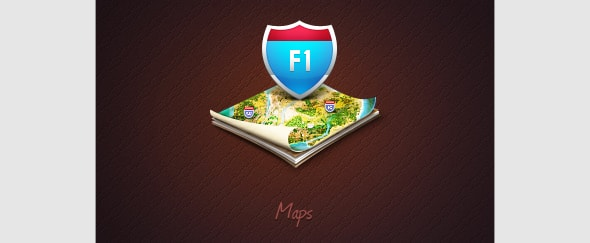 Go To Map Icon