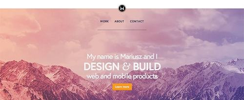 View Information about Mariusz Ciesla - Interactive Design