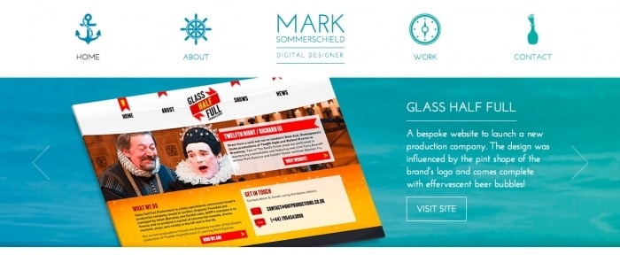 View Information about Mark Sommerschield | Digital Designer