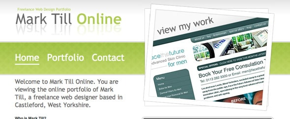 View Information about Mark Till Online