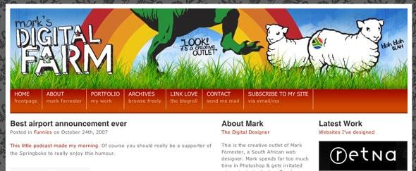 View Information about Mark Forrester