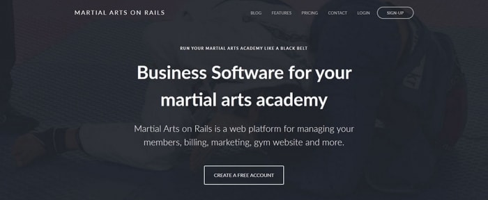 View Information about Martial Arts on Rails
