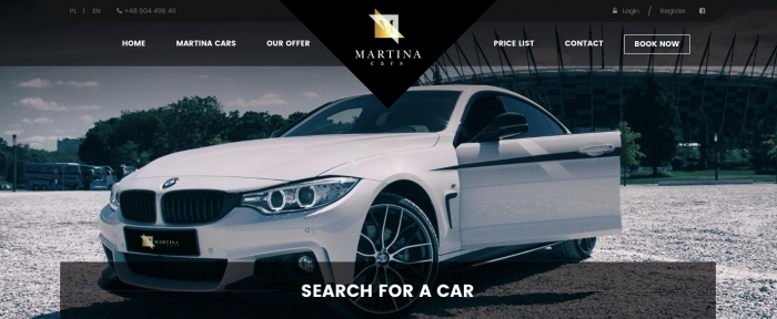 View Information about Martina Cars