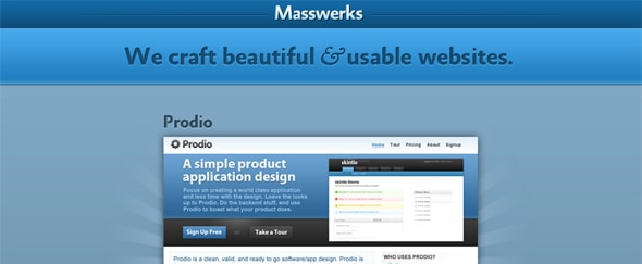 View Information about Masswerks