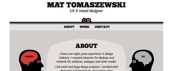 View Information about Mat Tomaszewski