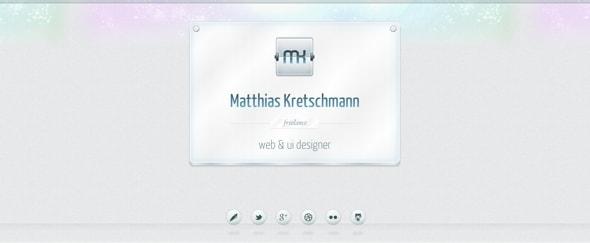 View Information about Matthias Kretschmann