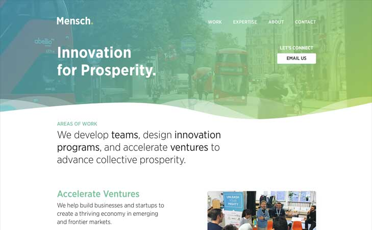 Go To Mensch — Innovation for Prosperity