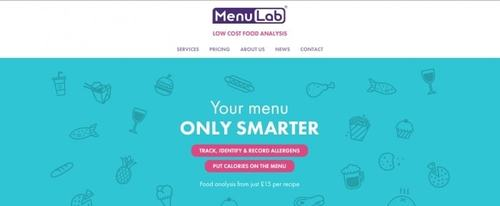 View Information about Menu Lab