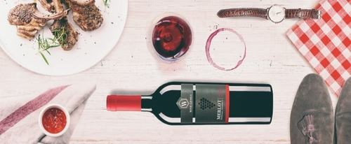 View Information about Merlot Wine Label Design & Online Branding