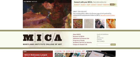 View Information about Maryland Institute College of Art
