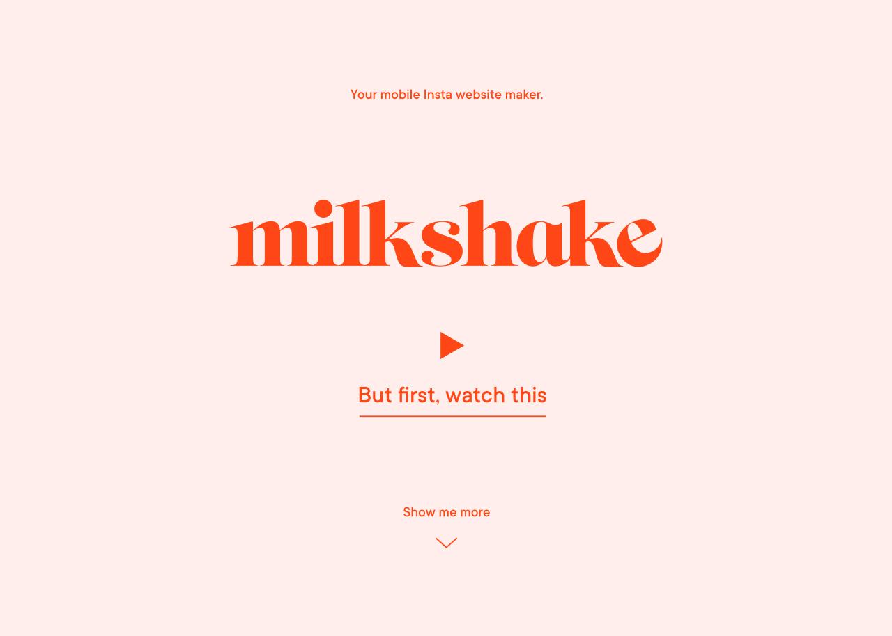 Go To Milkshake