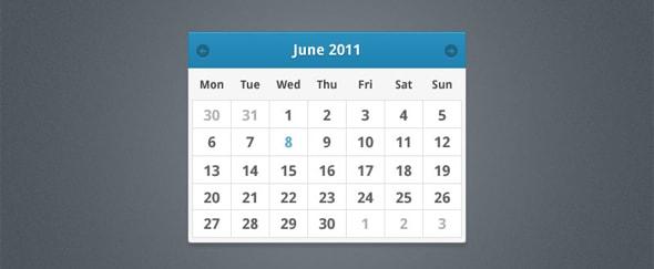 Minimalistic Calendar Design : Minimalist calendar design shack