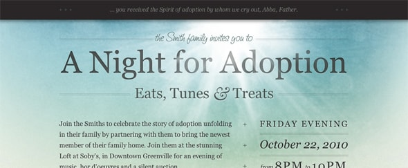 Go To A Night for Adoption