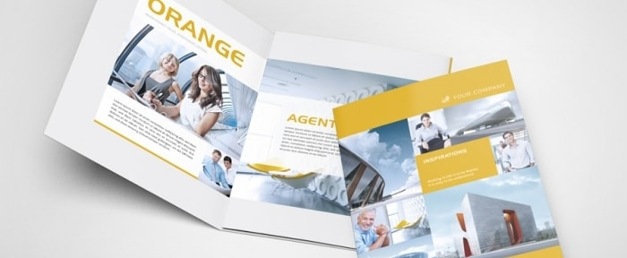 View Information about Modern Trifold Image Brochure