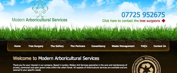 View Information about Modern Arboricultural