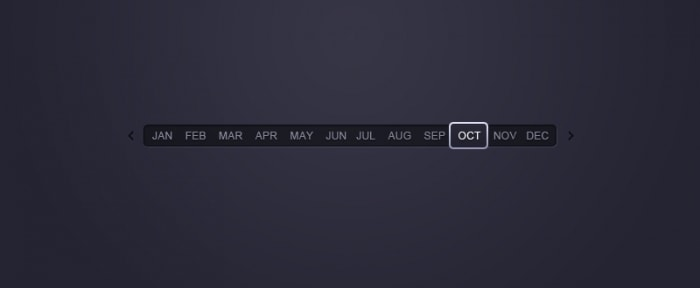 View Information about Month Picker