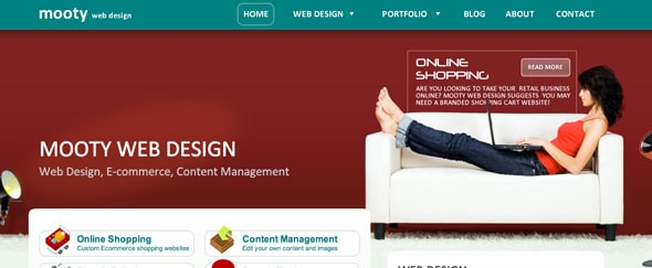 View Information about Mooty Web Design