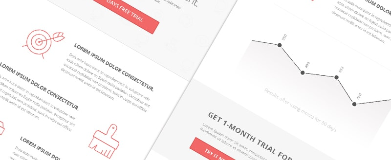 Go To Mooza PSD email template