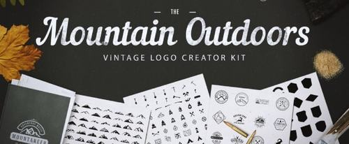 View Information about Mountain Outdoor Vintage Logo Kit