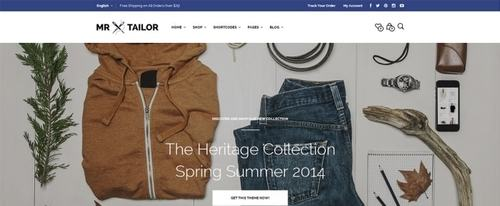 View Information about Mr Tailor Theme