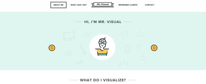 View Information about Mr Visual