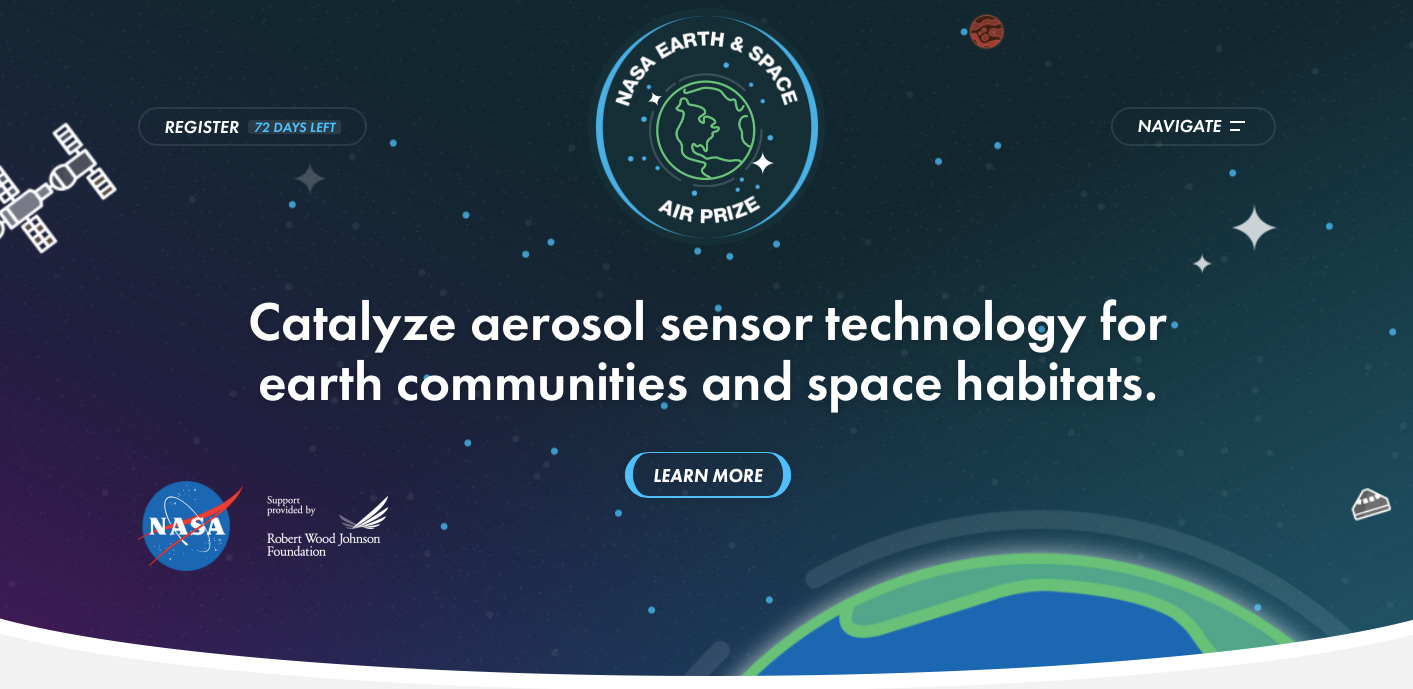 Go To NASA Earth Space Air Prize