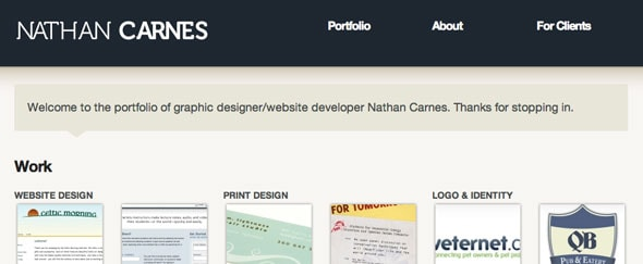 View Information about Nathancarnes