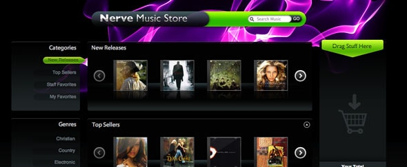 View Information about Nerve Music Store