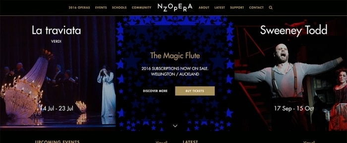 View Information about New Zealand Opera