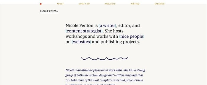 View Information about Nicole Fenton