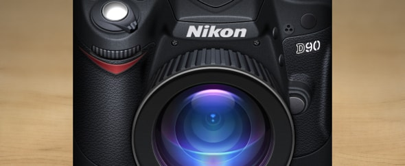 View Information about Nikon D90 Icon