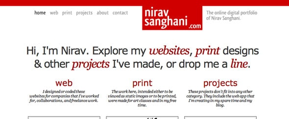 View Information about Nirav Sanghani