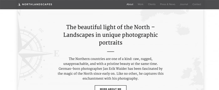 View Information about North Landscapes