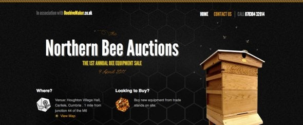 View Information about Northern Bee Auctions