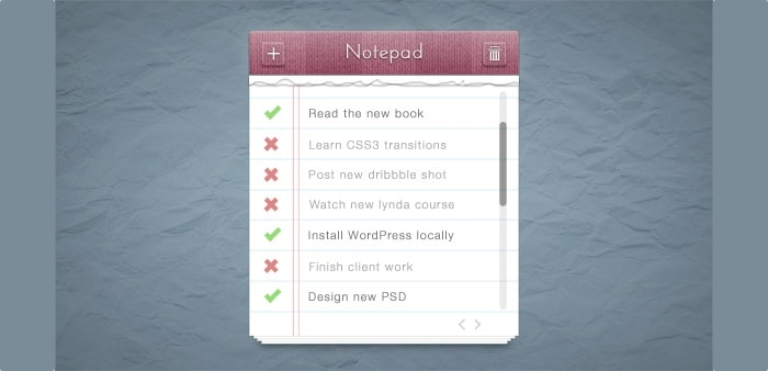 Go To Notepad PSD