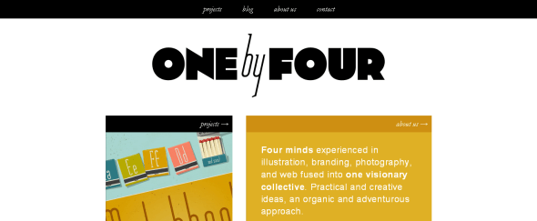 View Information about One by Four Studio