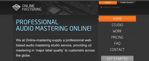 View Information about Online Mastering