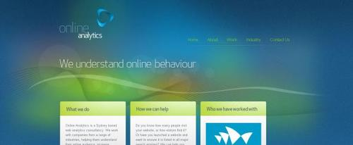 View Information about Online Analytics