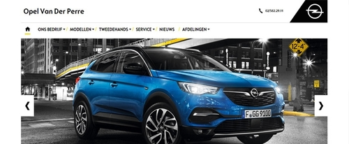 View Information about Opel Van Der Perre