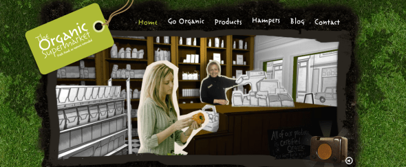 View Information about The Organic Supermarket