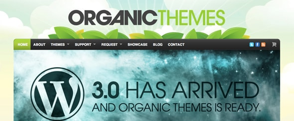 View Information about Organic Themes