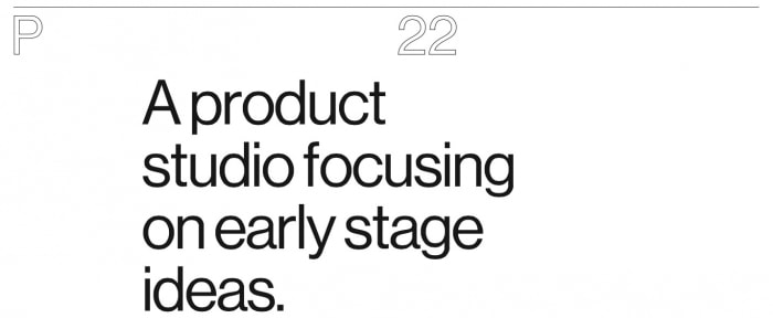 View Information about P22 Studio