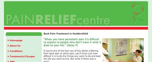 View Information about Pain Relief West Yorkshire