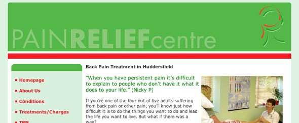 Go To Pain Relief West Yorkshire