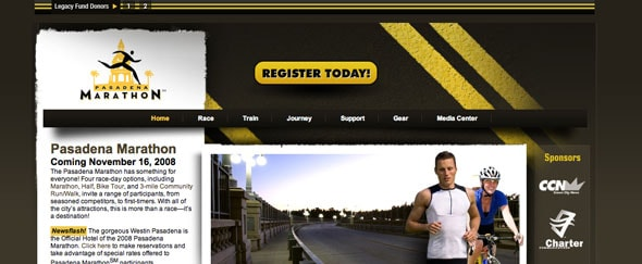 View Information about Pasadena Marathon