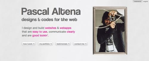 View Information about Pascal Altena