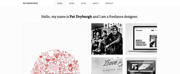 View Information about Pat Dryburgh